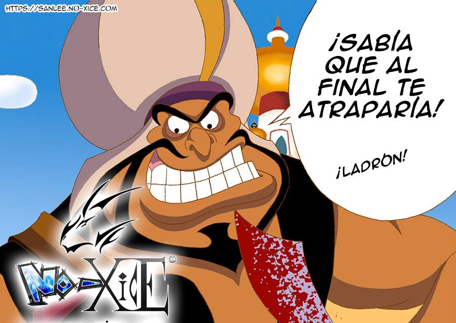 Tarjeta No-Xice© Aladdin ES top San Lee Manga mangaka