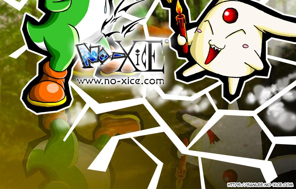 Carte No-Xice© Les bestioles stupides FR bottom San Lee Manga mangaka