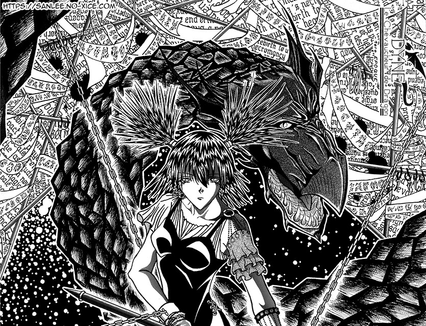 Illustration Dragon Rider 03 FR top San Lee Manga mangaka