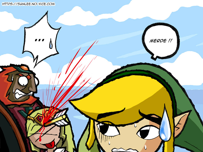 Carte No-Xice© Zelda Wind Waker FR top San Lee Manga mangaka